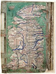 Timeline Maps Matthew Paris U0027s Map Of Britain
