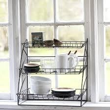 étagère à poser cuisine etagere deco cuisine etagere a poser rangement cuisine metal