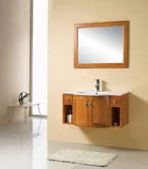 Wall Mounted Bathroom Vanity Cabinets 48inc Wall Mounted Bathroom Vanities Cabinet S897 From Walnut