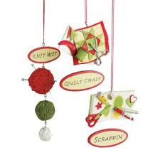 knitting quilting and scrapbooking ornaments store