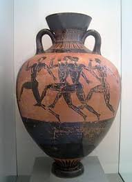 Clay Vase Painting Black Figure Pottery Wikipedia