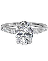 oval wedding rings oval engagement rings