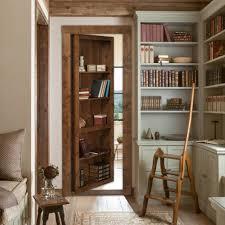 How To Make A Secret Bookcase Door Flush Mount Cabinet Door Package Hidden Door The Murphy Door