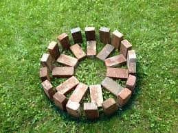 How To Create A Fire Pit In Your Backyard by How To Build A Outdoor Fire Pit With Brick Home Outdoor Decoration