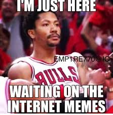 D Rose Memes - d rose is back 20 memes of derrick rose s stone cold grill after