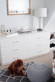 Malm Dresser Hack by Room Reveal Between Two Coasts