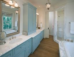 10 ways to add color into your bathroom design freshome com traditional blue bathroom