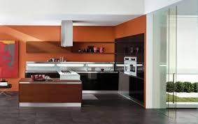 Orange Kitchen Cabinets Kitchen Color Combinations Modern Kitchen Color Scheme Orange