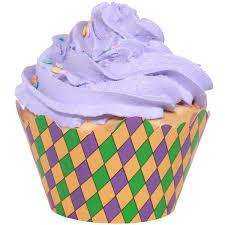 mardi gras cups mardi gras harlequin cupcake wrappers 12