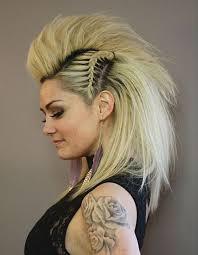 Coole Kurzhaarfrisuren Frauen by 20 Coole Faux Hawk Inspiriert Frisuren Für Frauen Smart Frisuren
