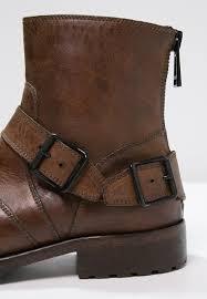 american biker boots belstaff trialmaster cowboy biker boots cognac men cowboy