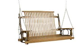 furniture wooden swing with canopy porch glider patio furniture