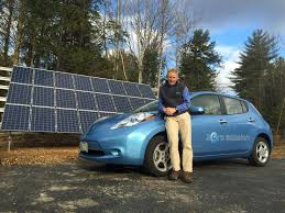 nissan leaf solar panel south portland to extend grid for electric vehicles u2013 the forecaster