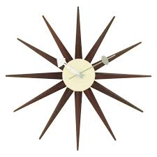 Modern Wall Clock Mid Century Modern Wall Clocks The Foundary Hayneedle