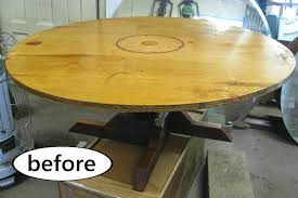Clock Coffee Table by Kammy U0027s Korner Painted Clock Coffee Table