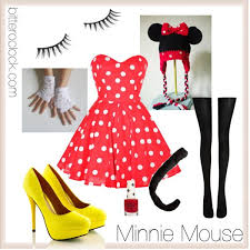 Minnie Mouse Halloween Costume Diy 172 Minnie Mouse Costumes Images Disney