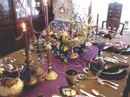 mardi gras table setting party time pinterest mardi gras