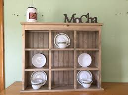 tea cup and saucer plate rack and kitchen display shelf 9 section