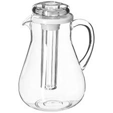 insert cuisine paderno cuisine clear acrylic juice pitcher with insert
