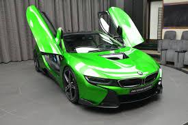 Bmw I8 All Black - lava green bmw i8 revealed in abu dhabi autoevolution