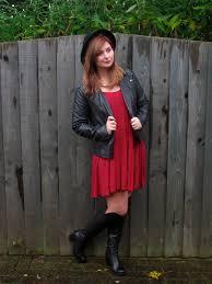 swing dress and boots u2022 laurenella