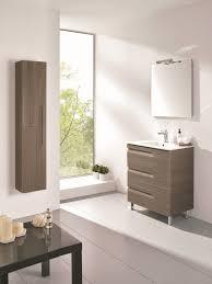 24 inch modern ash single sink bathroom vanity integrated sink