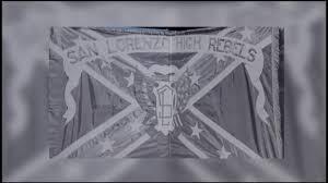 Confederate Flag Black And White San Lorenzo High May Change U0027rebel Guy U0027 Mascot Deemed