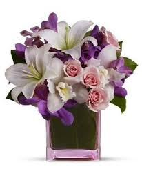 Beautiful Bouquet Of Flowers Valentines Day Bouquet With Beautiful Flowers Png