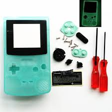 For Gbc For Nintendo Gameboy Color Housing Shell Screen Glow In Gameboy Color