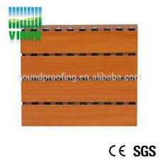 chambre d enregistrement bureau décoratif isolés panneau nouveau insonorisées matériau bois