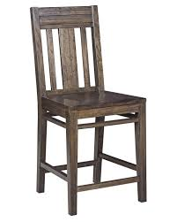 contemporary solid wood slat back bar stool by kincaid furniture
