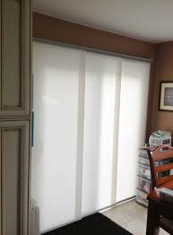 Levolor Panel Track Blinds by Panel Tracks Are Another Good Window Covering For Patio Doors