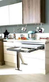 table escamotable dans meuble de cuisine meuble de cuisine avec table escamotable meuble central cuisine