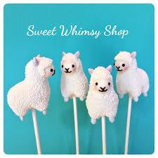 12 cute llama alpaca cake pops for zoo birthday sherpa