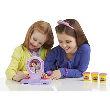 kids play vanity set play doh amulet and jewels vanity set sofia the first walmart com