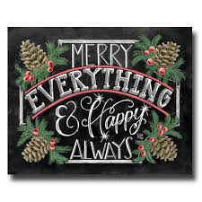 happy everything sign sign merry everything happy always chalkboard