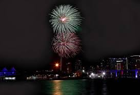 North Bay Waterfront Fireworks by July Fourth Fireworks Are Happening All Over Miami Herald