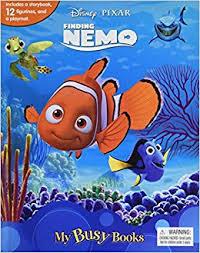 disney pixar finding nemo busy book phidal publishing