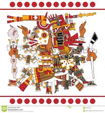 imagenes idolos aztecas quetzalcoatl ilustraciones stock vectores y clipart 120