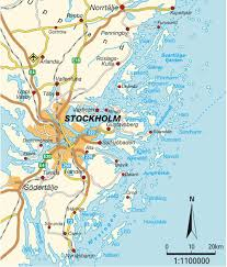 Scandinavia Map Map Stockholm Greater Maps And Directions At Map