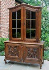 French Country Bookshelf Antique Display Cabinets 1900 1950 Ebay