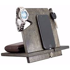 wood gifts for him wood iphone station christmas gifts for