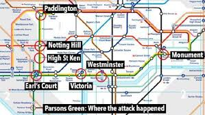 target black friday map 2017 london terror attack was westminster or paddington station real