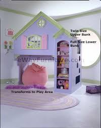 Purple Bunk Beds Dollhouse Bunk Bed