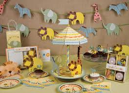 animal baby shower decoration ideas safari baby shower