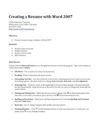 How To Get Resume Templates On Microsoft Word 2010 How Do You Create A Resume Haadyaooverbayresort Com