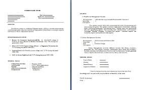 interview resume format for freshers resume sle sle resume for java developer fresher java