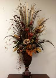 pheasant home decor dried preserved floral arrangement designed by arcadia floral and