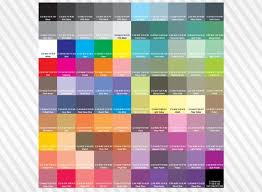 paint color chart pdf ideas color charts aervoe industries inc