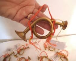mini french horn etsy